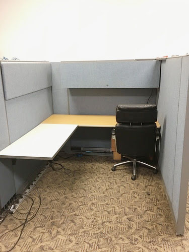 coworking cubicle