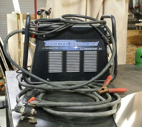 Thermal Dynamics Cutmaster 51 Plasma Cutter.jpg
